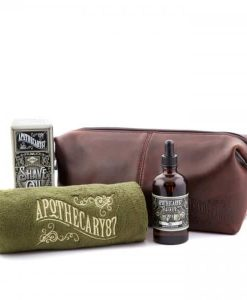 Apothecary 87 Wash Bag Shave Oil