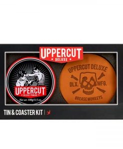 UPPERCUT DELUXE POMADE TIN & COASTER KIT at befaf
