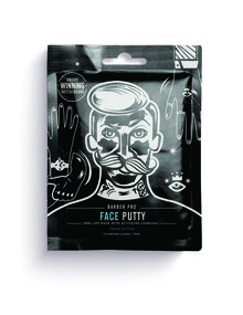 Barber Pro Face Putty Black Peel off Mask