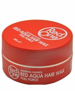 RED ONE AQUA HAIR WAX FULL FORCE STAWBERRY RED - 150ML