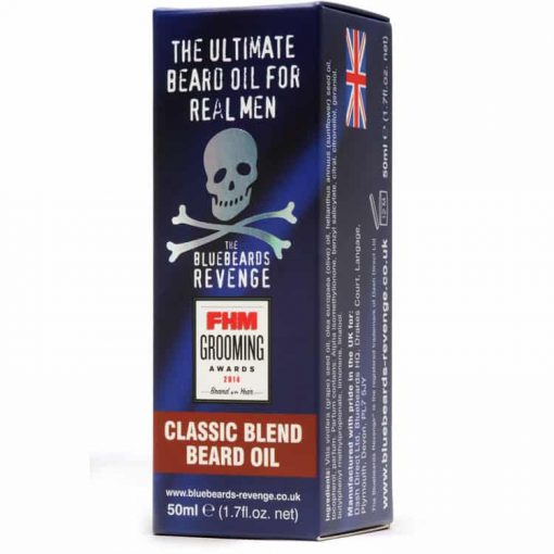 BLUEBEARDS REVENGE CLASSIC BLEND BEARD OIL at befaf