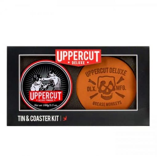 UPPERCUT DELUXE POMADE TIN & COASTER KIT at befaf