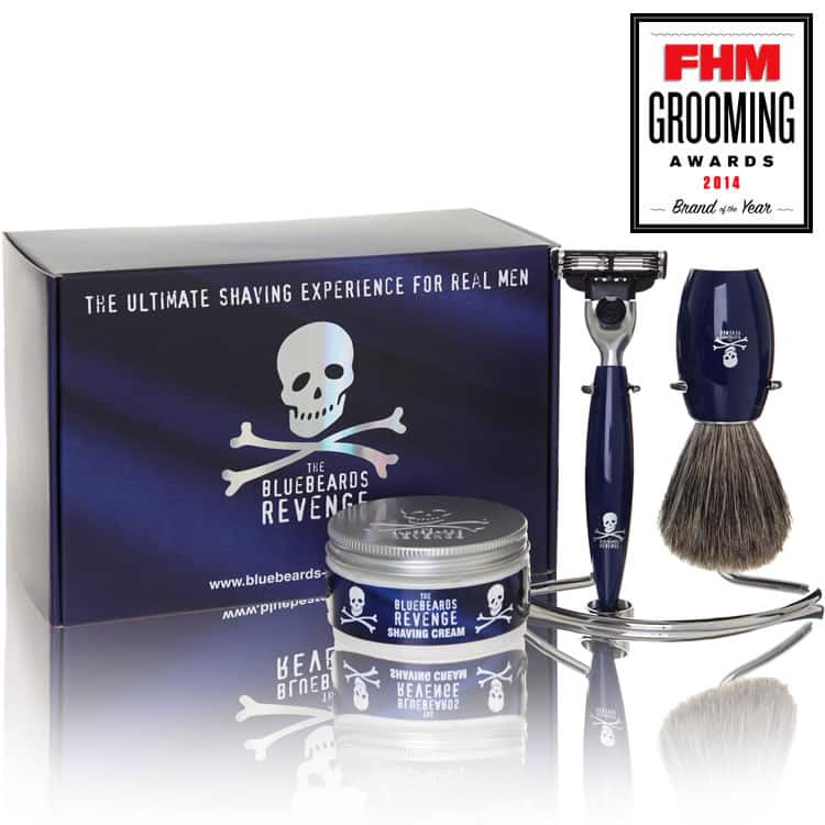bluebeards revenge privateer collection mach3 razor gift set befaf men 39 s hair beard grooming. Black Bedroom Furniture Sets. Home Design Ideas