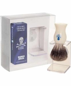Bluebeards Revenge Pure Badger Brush & Stand Gift Set