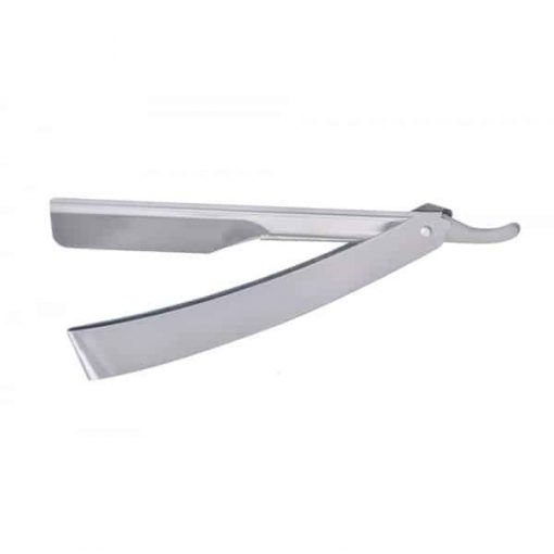 BARBER RANGE CUT THROAT RAZOR - STAINLESS STEEL