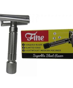FINE ACCOUTREMENTS SUPERLITE SLANT DOUBLE EDGE RAZOR