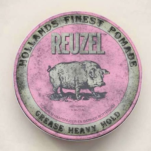 Reuzel Pink Heavy Hold Grease befaf.co.uk