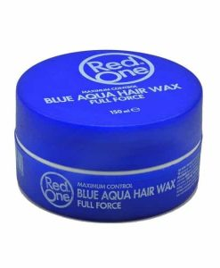 Red One Aqua Hair Wax Full Force Bubblegum Blue
