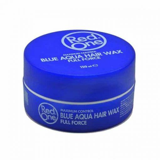 Red One Aqua Hair Wax Full Force Bubblegum Blue