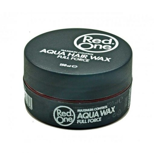 Red One Aqua Hair Wax Full Force Grey - 150ml