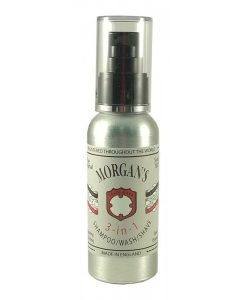 Morgan's 3-in-1 Shampoo, Wash & Shave 100ml