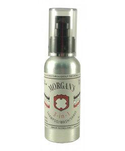 Morgan's 3-in-1 Shampoo, Wash & Shave 100ml