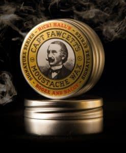 Captain Fawcett Ricki Hall Booze & Baccy Moustache Wax