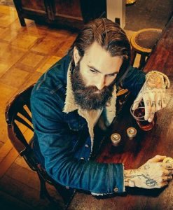 Ricki Hall Booze & Baccy Moustache Wax