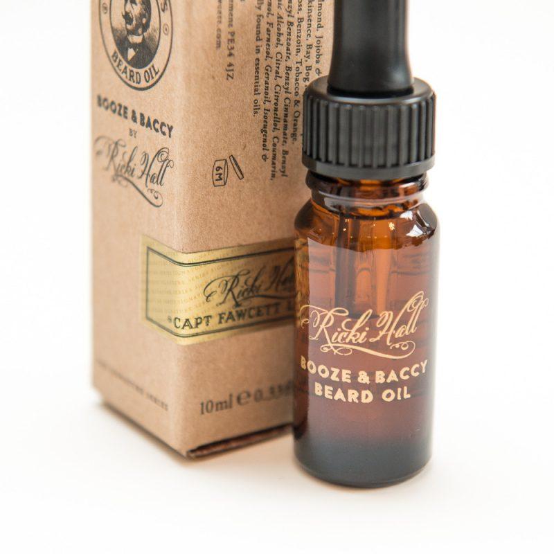Captain Fawcett Ricki Hall's Booze & Baccy Beard Oil 10ml