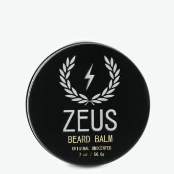 ZEUS BEARD BALM - UNSCENTED, 2 OZ.