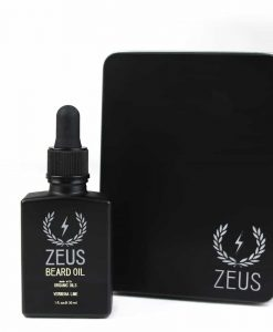 ZEUS BEARD OIL, ORGANIC OIL - VERBENA LIME IN TIN, 1 OZ.