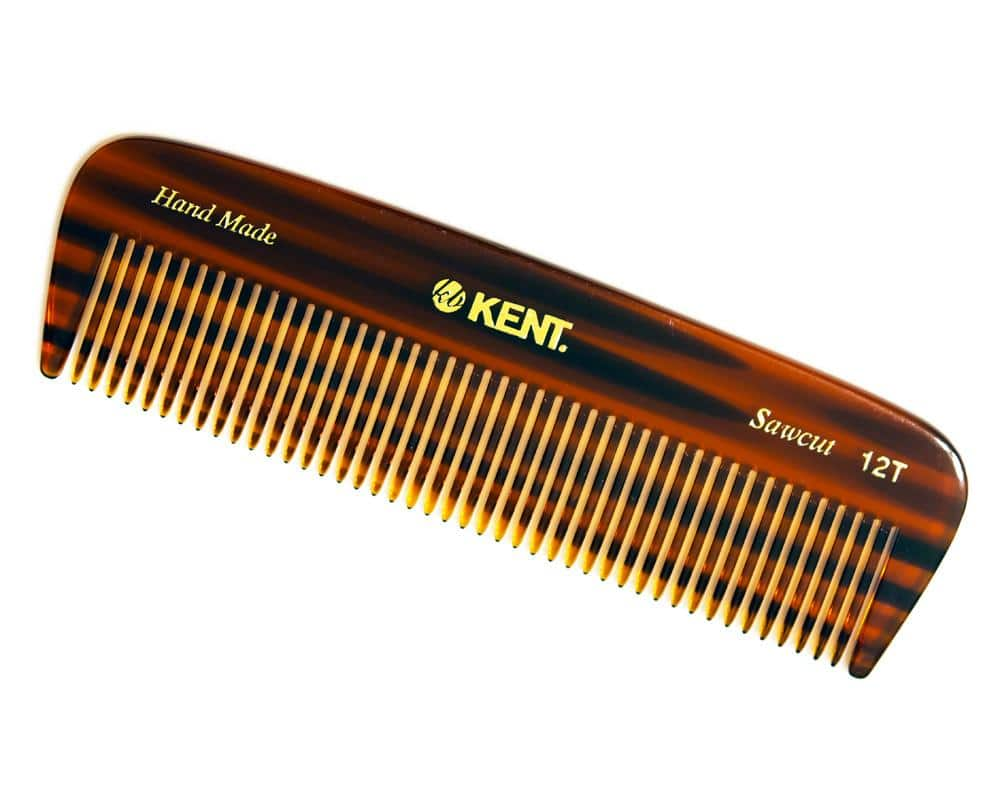 kent brushes comb pocket thick hair a 12t befaf men 39 s hair beard grooming. Black Bedroom Furniture Sets. Home Design Ideas