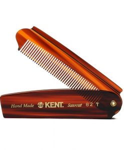 Kent Brushes Comb Mens Large Folding Pocket A 82T