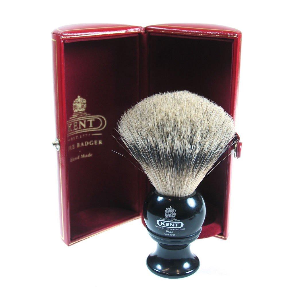 kent brushes small blk shaver silvertip badger blk4 befaf men 39 s hair beard grooming. Black Bedroom Furniture Sets. Home Design Ideas