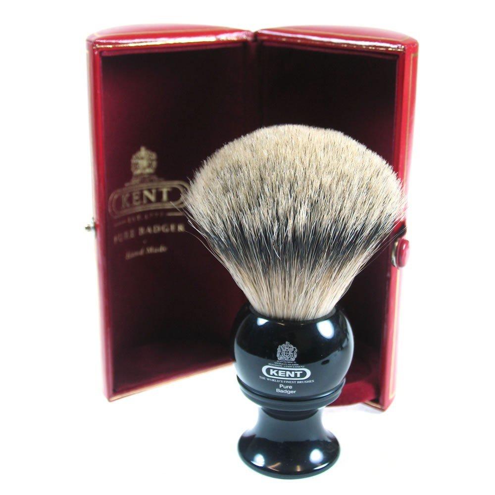 kent brushes med blk shaver silvertip badger blk8 befaf men 39 s hair beard grooming. Black Bedroom Furniture Sets. Home Design Ideas