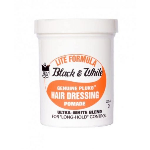 Black & White Lite Formula Pomade Wax - 200ml