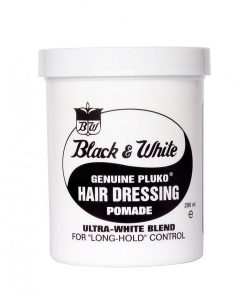 Black & White Original Pomade Wax - 200ml
