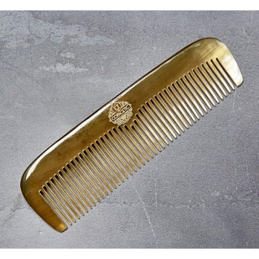 Mens Hair comb. Copacetic Ox Horn Angled Comb
