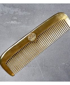 Mens Hair comb. Natural ox horn comb. Unique, bespoke and hand made.