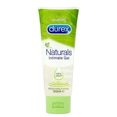 Durex Naturals Pleasure Gel 100ml Lubricant