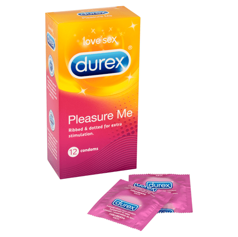 Durex Pleasure Me 12's Condom