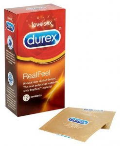 Durex Real Feel 12's Condom