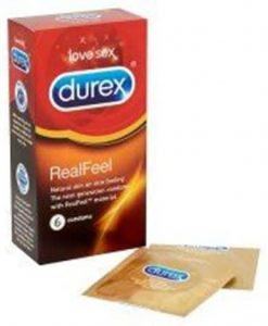 Durex Real Feel 6s Condom
