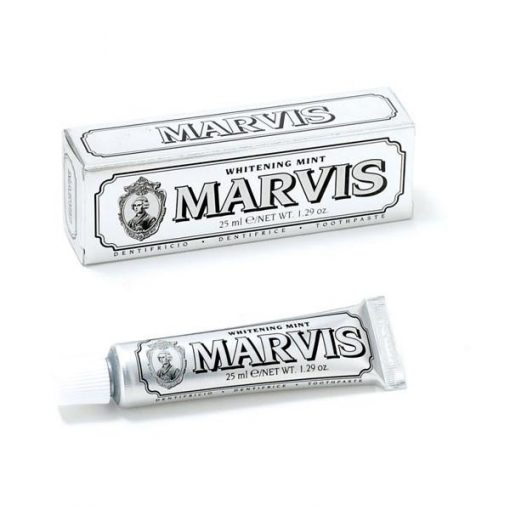 Marvis Travel Toothpaste WHITENING MINT 25ml