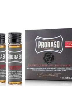 Proraso Hot Oil Beard Treatment 4 x 17ml