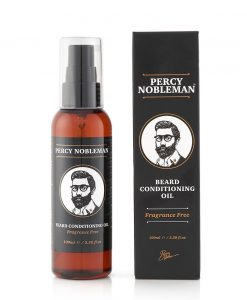 Percy Nobleman Beard Oil Fragrance Free