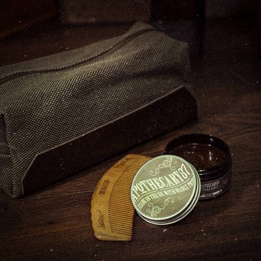 Apothecary 87 Dopp Bag Hair Styling Kit