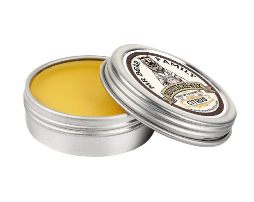 r. Bear Moustache Wax Citrus