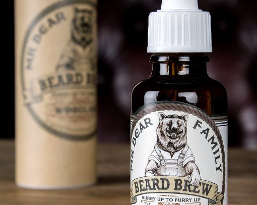 Mr. Bear Beard Brew Woodland