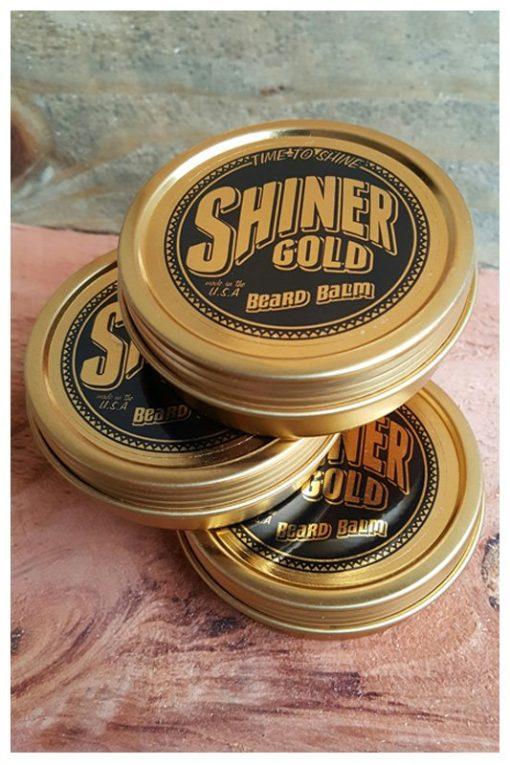SHINER GOLD  BEARD BALM 3