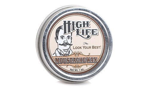 High Life Moustache Wax