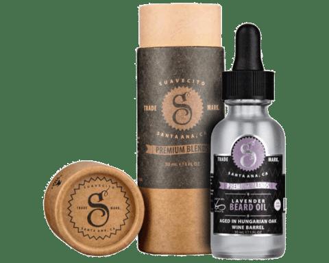 premium blends lavender beard oil w packaging large