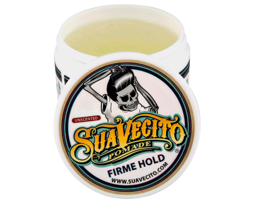suavecito unscented firme hold pomade open