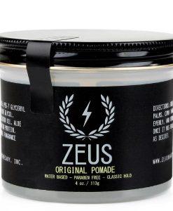 Zeus Pomade - Original Hold, 4 Oz.