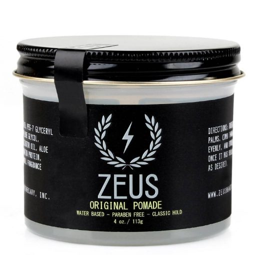 Zeus Pomade - Original Hold, 4 Oz.