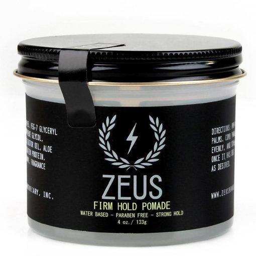 Zeus Pomade - Firm Hold, 4 Oz.