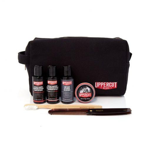 Uploaded ToUppercut Deluxe Filled Wash Bag – Black