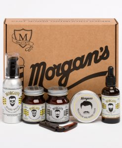 Morgans Pomade Moustache and Beard Gift Set