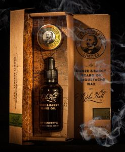 Captain Fawcett Booze & Baccy Beard Oil By Ricki Hall - 50ml