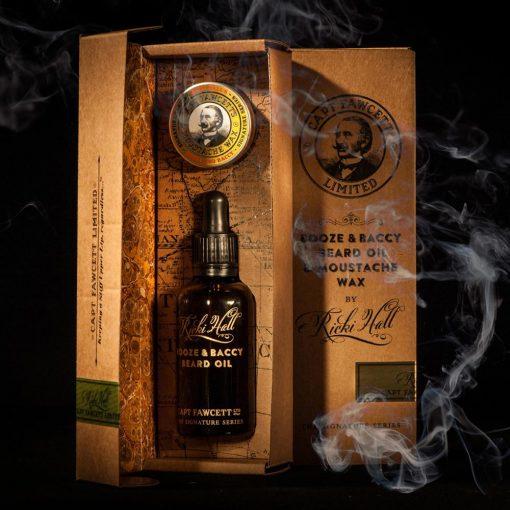 Captain Fawcett Booze & Baccy Beard Oil By Ricki Hall - 50ml